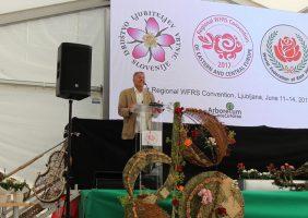 Vtisi z kongresa Svetovne Zveze Društev Ljubiteljev Vrtnic 2017