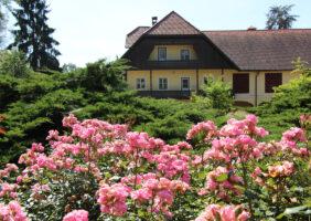 Vabilo na društveni ogled rožnega vrta v Arboretuma